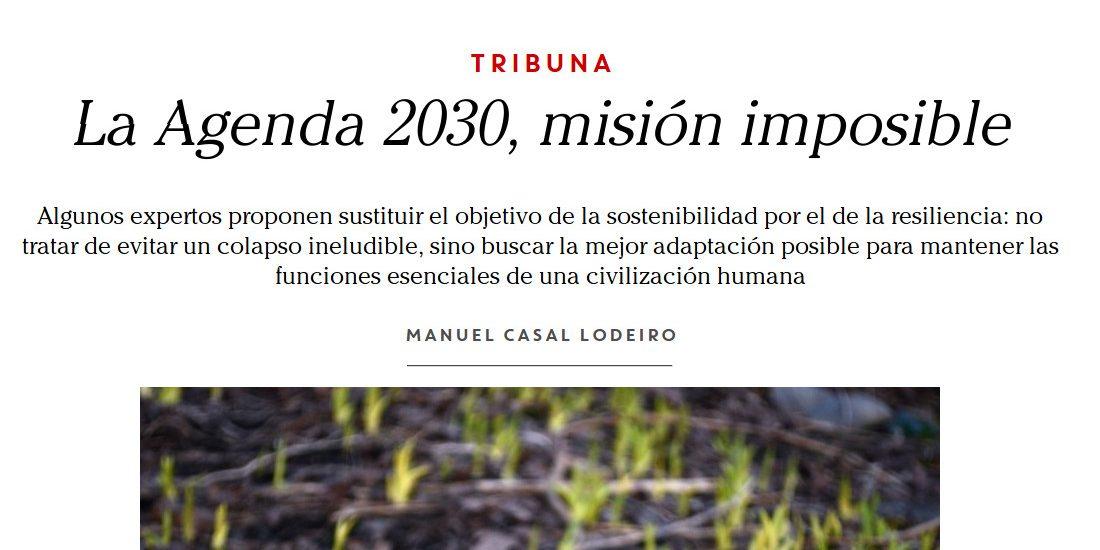 Spanish Agenda 2030: Mission Impossible