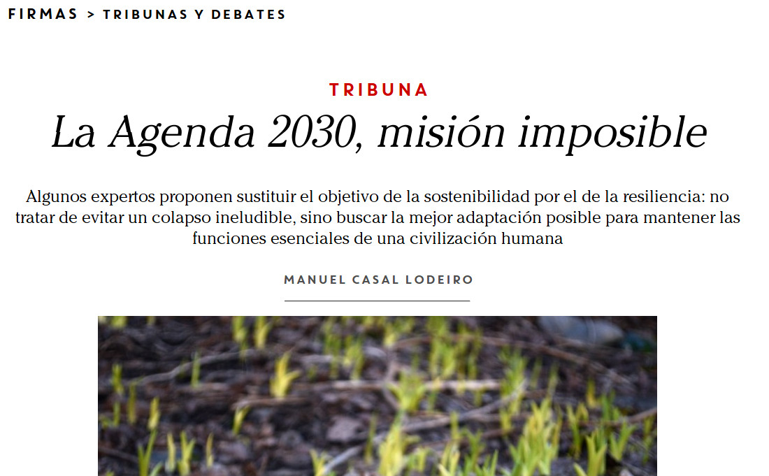 Spanish Agenda 2030: Mission Impossible